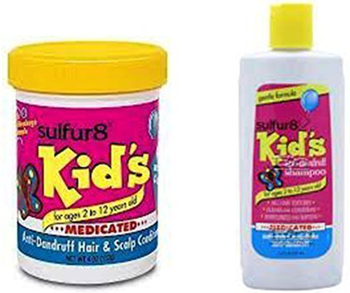 Sulfur8 Kids Medicated & Anti-Dandruff Shampoo & Conditioner For Kids (Duo Set)