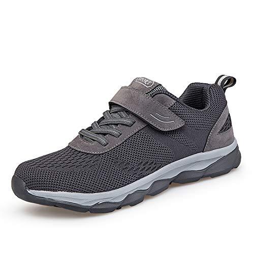 BESKEE Wanderschuhe Damen Herren Outdoor Trekking Fitness Schuhe Leicht Laufschuhe mit Klettverschluss 35-44