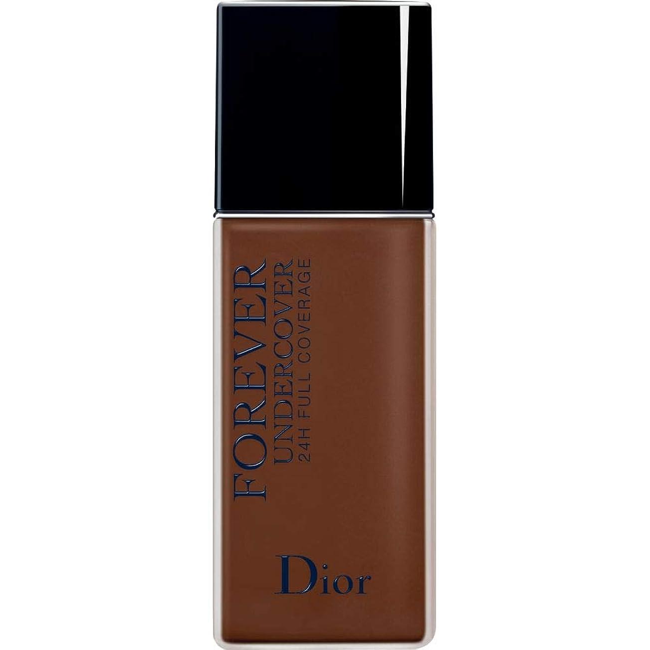 泳ぐ刈るフォーラム[Dior ] ディオールディオールスキン永遠アンダーカバーフルカバーの基礎40ミリリットル080 - 黒檀 - DIOR Diorskin Forever Undercover Full Coverage Foundation 40ml 080 - Ebony [並行輸入品]