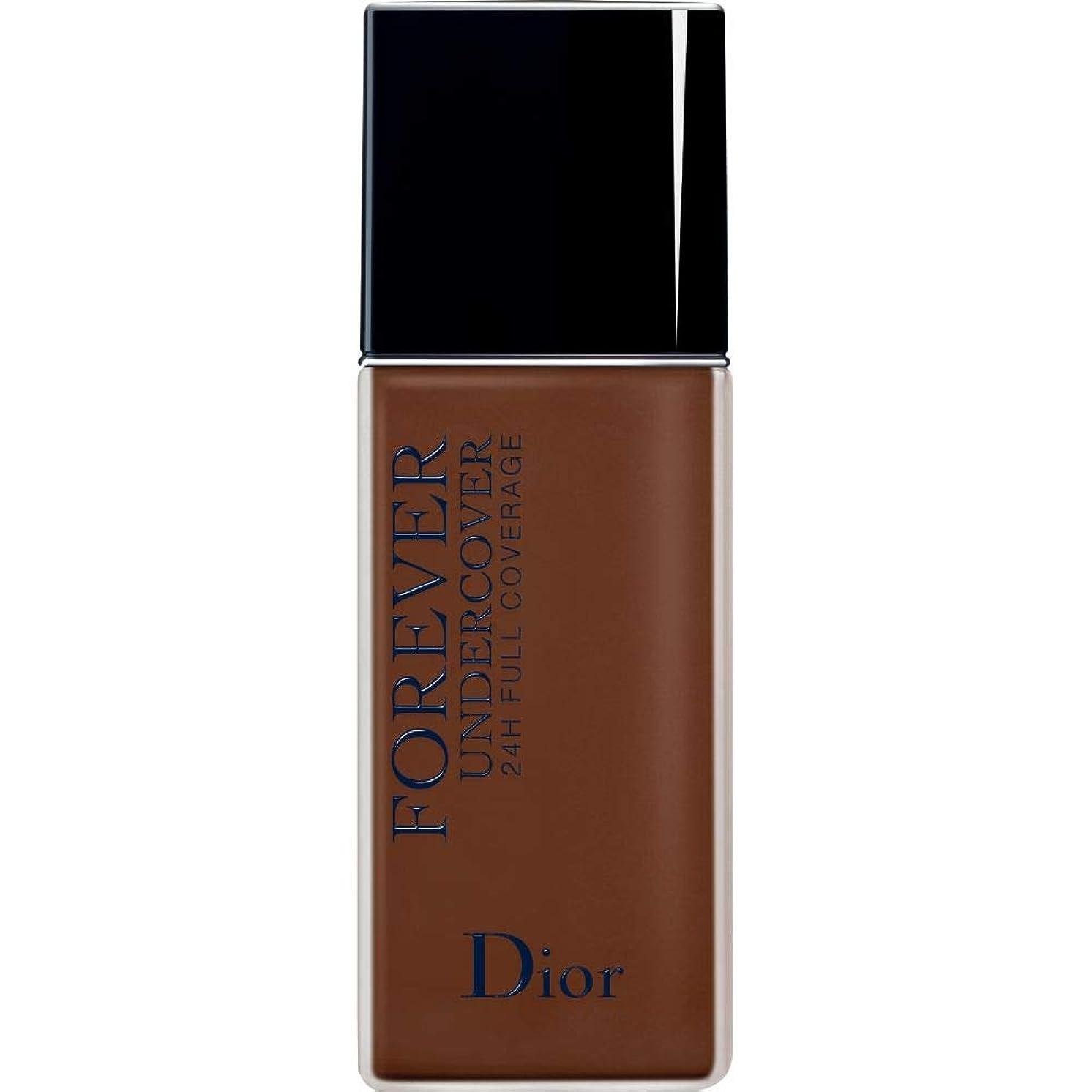 切り刻む不振爆発[Dior ] ディオールディオールスキン永遠アンダーカバーフルカバーの基礎40ミリリットル080 - 黒檀 - DIOR Diorskin Forever Undercover Full Coverage Foundation 40ml 080 - Ebony [並行輸入品]