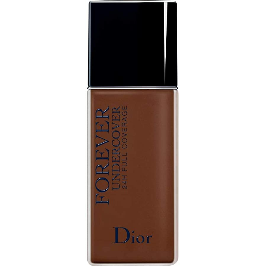 全く本質的ではないパトロン[Dior ] ディオールディオールスキン永遠アンダーカバーフルカバーの基礎40ミリリットル080 - 黒檀 - DIOR Diorskin Forever Undercover Full Coverage Foundation 40ml 080 - Ebony [並行輸入品]