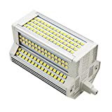 50W R7S 118mm LED Dimmerabile, 5000LM, Bianco Calda 3000K, Lampadine R7S LED 50W Sostituire Alogena R7S 400W 500W, J118 R7S Dimmerabile LED per Lampada da Terra/Plafoniera/Proiezione