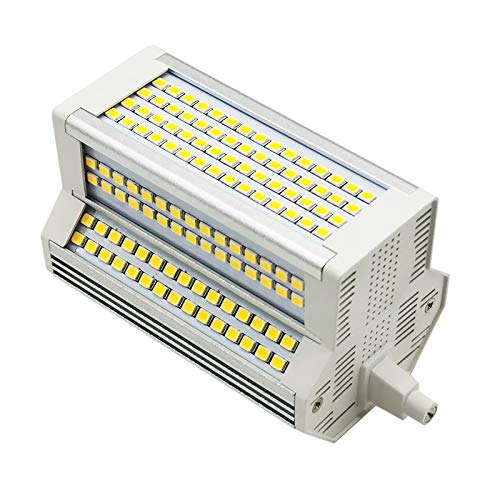 Ampoule R7S LED 118mm 50W Dimmable, 5000LM, Blanc Chaud 3000K, Équivalent Crayon Halogène R7S J118 450W 500W, 220 Degrés de Lumière, R7S 118mm LED Dimmable pour Studio/Garage, lot de 1