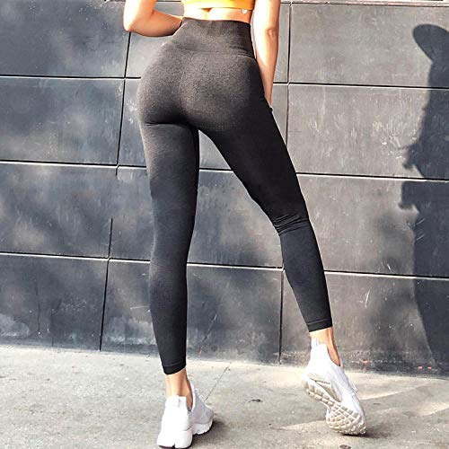 Vrouwen energie naadloze yoga legging,Dames Big Booty Gym-legging, naadloze workout-legging, hoge taille push-up yogabroek