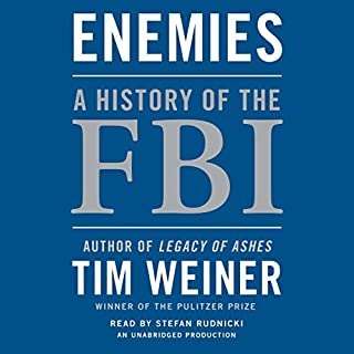 Enemies: A History of the FBI audiobook cover art