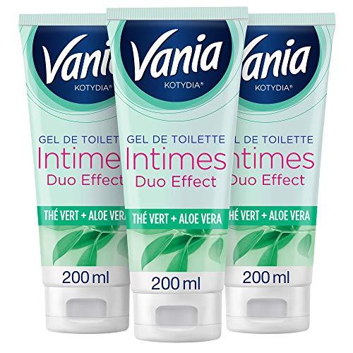 Vania Kotydia Gel de Toilette Intime, Thé Vert et...