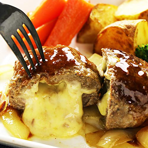ミートガイ チーズ in ハンバーグステーキ 150g×2個 グラスフェッドビーフ使用