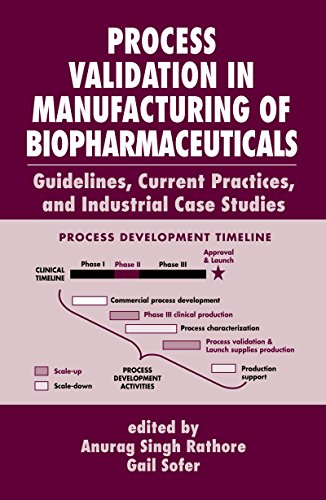 Process Validation in Manufacturing of Biopharmaceuticals: Guidelines, Current Practices, and Industrial Case Studies (Biotechnology and Bioprocessing Book 29) (English Edition)
