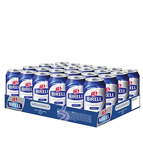 Birell Svetly - Helles alkoholfreies 330ml dosenbier (24 x 330ml) EU