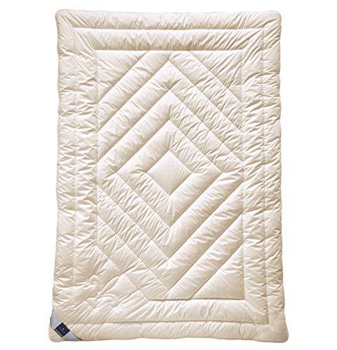 billerbeck Cashmere Bettdecke Contessa 155 x 220 cm, Wärmestufe extra warm, anschmiegsame und klimatisierende