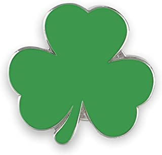 Irish Green Shamrock Enamel Lapel Pin Saint Patrick's Day (Wholesale) (1 Pin)
