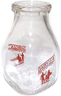 Vintage Dairylea Half Pint Glass ACL Milk Bottle
