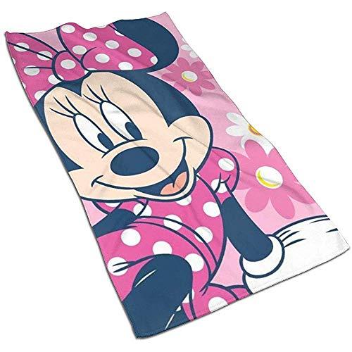 Minnie Soft Super Absorbent sneldrogende handdoek badhanddoek strandlaken - 27,5 x 17,5 inch