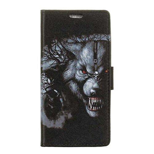 PU Leder Etui Hülle im Bookstyle Handy Tasche für Doogee X30 Schutzhülle Schale Flip Cover Wallet Case (KZN-06#)