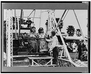HistoricalFindings Photo: Ferris Wheel Ride,Carnival,Brownsville,Texas,TX,February 1942,Arthur Rothstein,3