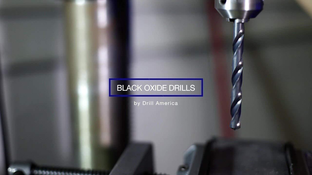 DWDRSD Series Drill America 1-3//64 High Speed Steel Reduced Shank Drill Bit with 3//4 Shank
