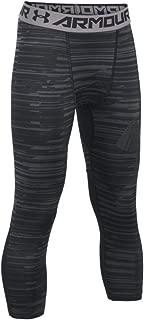 Boys HeatGear Armour 3/4 Printed Leggings