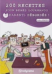 livre 200 recettes pour bébés gourmands et parents débordés