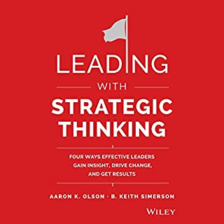 Leading with Strategic Thinking cover art