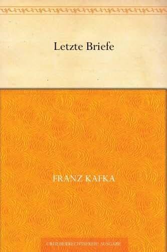 Letzte Briefe (German Edition)