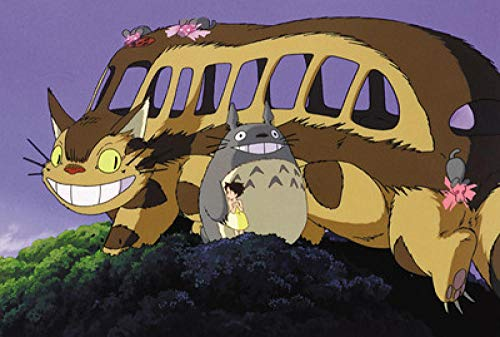 SKYTY Jigsaw Puzzles 300/500/1000/Pieces-Totoro photo-A7_1000-Wooden Assembling Puzzles for Adults Kids Puzzle games home Educational Puzzle Toys
