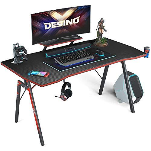 DESINO Gaming Desk 40 inch PC Computer Desk, Home Office Desk Table Gamer...