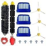 HiyHiy Kit de accesorios para aspiradora, Land2 Partes, kit de accesorios para Irobot Roomba serie 800 900 Robot Aspiradora -10 piezas