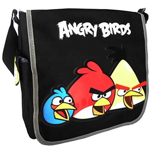 Angry Birds Messenger Bag (Black)