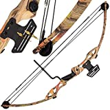 DNA Leisure 55lb Draw Weight Super Accurate High Power Camo Compound Tactical Rambo