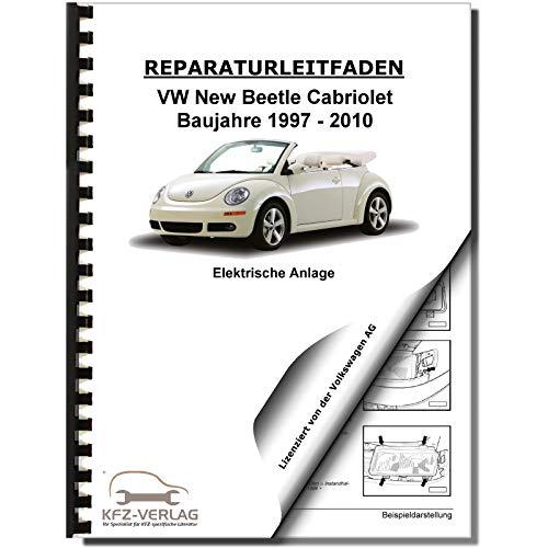 VW New Beetle Cabrio 1Y (03-10) Elektrische Anlage Systeme Reparaturanleitung