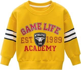 HIKIDS Sweatshirt, jongens, dinosaurus, lange mouwen, voor kinderen, tops, kraag, sweatshirt, trui, 1 tot 7 jaar