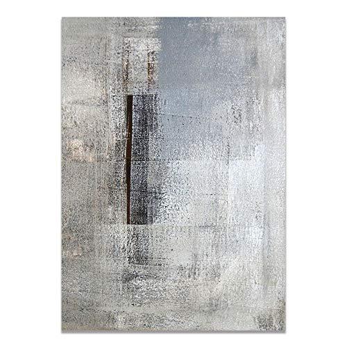 U/N Imagen Creativa imagina Pintura de Lienzo en Blanco y Negro impresión Abstracta utilería Arte de Pared Sala de Estar decoración de Dormitorio de Oficina-9