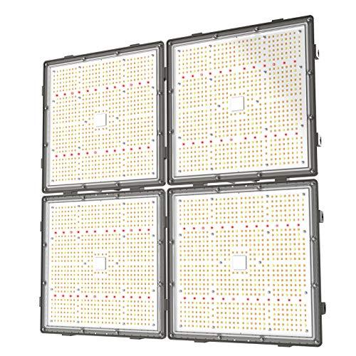 GROPLANNER LED Grow Light 600 Watts 3024pcs LEDs 5x5 Flower 2.4G WiFi Control Full Spectrum LED Grow Lights