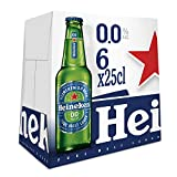 Heineken 00 Cerveza - Pack de 6 Botellas x 250 ml (Total: 1.5 L)