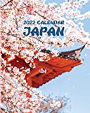 2022 Calendar Japan: Sunday-Saturday with Pictures of Japanese Cities, Towns, and Landscapes; Includes Tracker for Finances and Important Dates