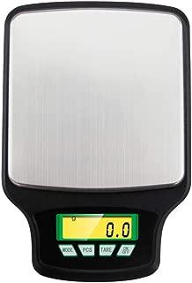 LYC Electronica Cocina Báscula, Alimentos Báscula 3kg x 0.1g Escala de Joyería Adecuado para Cocina,Joyería,Pastelería d (Color : Black)