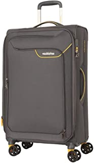 American Tourister Applite 4 82cm Case Soft Suitcase Luggage Trolley Grey Large