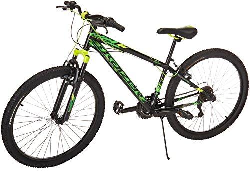 Bicicleta Mercurio Kaizer R26 con Suspensión, para Hombre, Negro/Verde