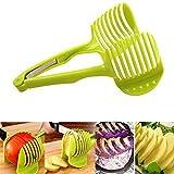 Clip Fruit Vegetable Slicer Tool Potato Tomato Onion Lemon Shredders Slicers Vegetable Fruit Slicer Kitchen Gadget