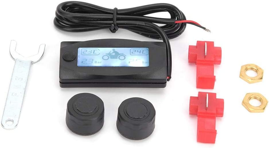 Tire Pressure Monitoring System Plastic Mail order Lowest price challenge cheap Multifunction Motorcycle