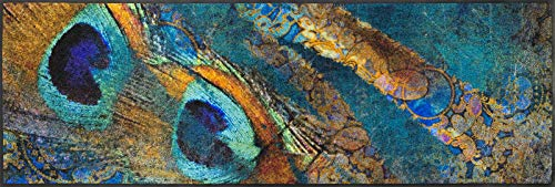 wash + dry Tapis Bleu 60 x 180 cm