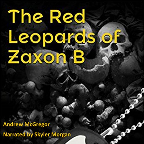 The Red Leopards of Zaxon B audiobook cover art