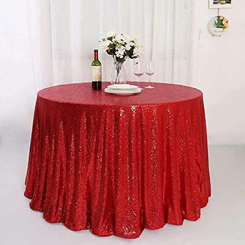 sans_marque Mantel de mesa, cubierta de mesa, cubierta de mesa lavable que se puede utilizar para decoración de buffet de mesa de cocina, mantel lavable, círculo de 275 cm