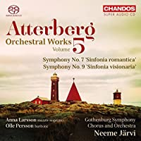 Atterberg: Orchestral Works, Vol. 5 by Olle Persson