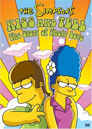 Kiss homer marge The Simpsons: