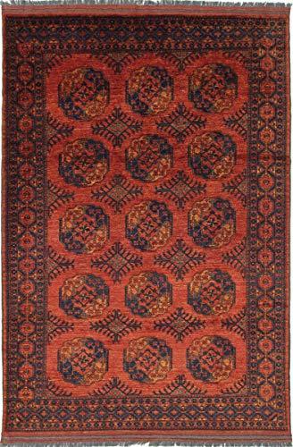 Nain Trading Afghan Ersari 301x206 Orientteppich Teppich Braun Handgeknüpft Afghanistan