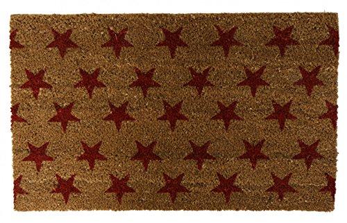 Kokos Fußmatte Stars