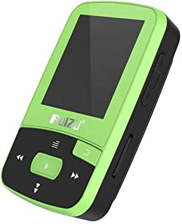 DishyKooker rui/zu X50 MP3 MP4 Music Player 1.5inch Screen Wireless Support Bluetooth4.0 300mAh Battery Lossless FM Radio APE/FLAC/WAV Green