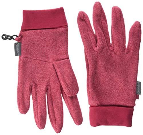 Sterntaler Mädchen Fingerhandschuh Handschuhe, Rot, 5
