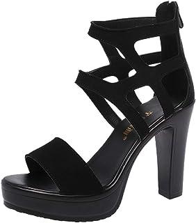 esTerciopelo Zapatos Vestir Para De Amazon Sandalias Mujer ChrdxtsQ